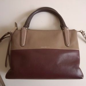 Coach Bags - Coach mini borough colorblock zipper bag leather